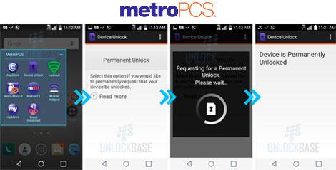 cómo desbloquear celular metropcs con device unlock app